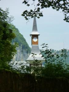 Clocher d'une Eglise Franc-Comtoise