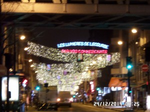 Illuminations quartier Lecourbe