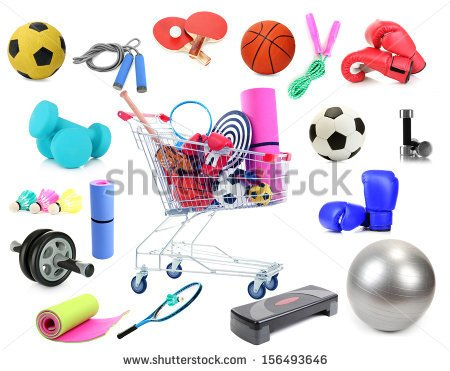 stock-photo-sports-equipment-collage-isolated-on-white-156493646