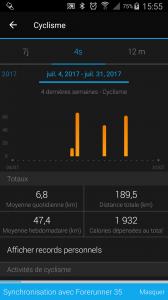 JUILLET 2017 KM VELO
