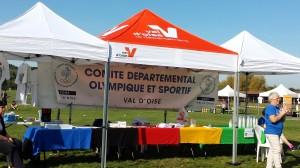 Stand du Comité départemental Olympique et sportif