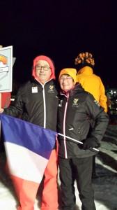 Avec Jean-Luc, coéquipier su stage 2016 à La Bresse