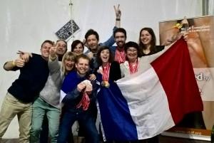 L'Equipe de France et ses médaillés !