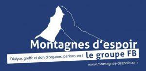 Groupe Montagnes d'espoir dialyse greffe don d'organes parlons-en !